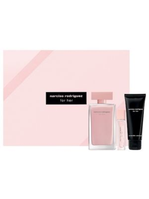 NARCISO RODRIGUEZ EDP FOR HER SET (L) 100ml+10ml+BL75ml