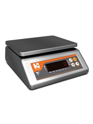 WEIGHING SCALE KITCHEN IP67 15KG/1G FULL SST TRAY 23X19CM