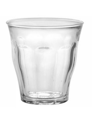 PICARDIE TUMBLER 22CL TEMPERED - 1 Set, 6 Pieces