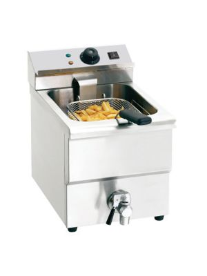 FRYER 8L TABLE TOP WITH OIL DRAIN TAP 3.25KW 220-240V/50HZ