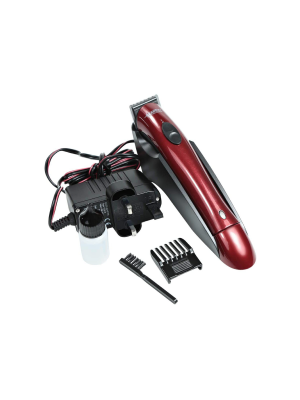 Quattro Professional QP10 Trimmer Pomegranate Red Glossy