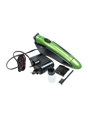 Quattro Professional QP10 Trimmer Green Glossy