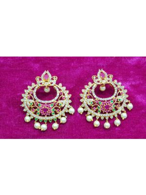 SBK Fashion - Earrings with stones