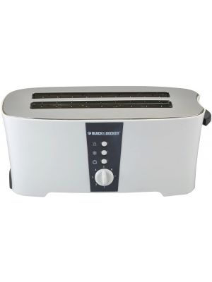Black & Decker 1350W 4 Slice cool touch toaster