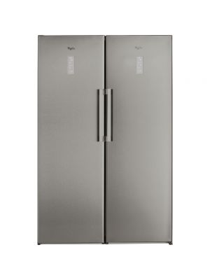 WHIRLPOOL UPRIGHT CABINET REFRIGERATOR 371 LTRS - SILVER