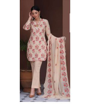 Embroidered Swiss By Manizay