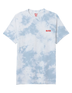 Selfish sky blue tie dye t-shirt