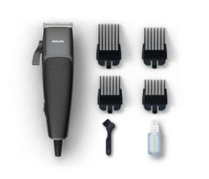Philips Hair clipper corded  4 clip on combs